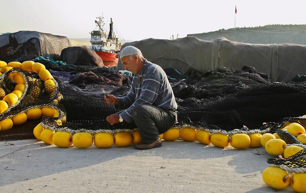 Fisherman by Filiz A