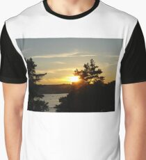 Sunset by the Ocean 2 Graphic T-Shirt