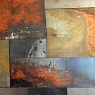 rustic distressed grunge steampunk rusted metal  by lfang77