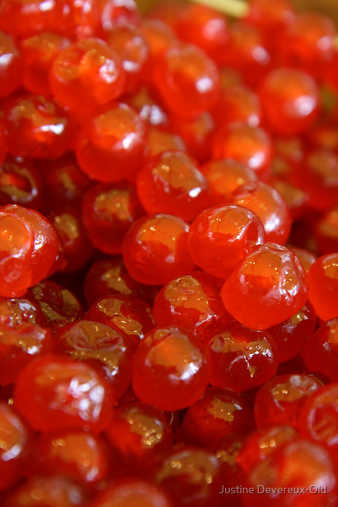 Cherries!!! by Justine Devereux-Old