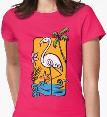 Flamingo and Palm Tree T-Shirt