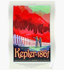 Kepler 186f, Reiseplakat Poster