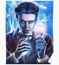 Nikola Tesla - Man of Lightning Poster