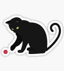 Kritische Niedlichkeit Sticker