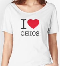 I ♥ CHIOS Women's Relaxed Fit T-Shirt