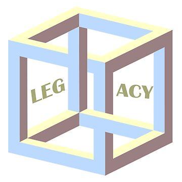 Trippy Cubism  by LEGACYS