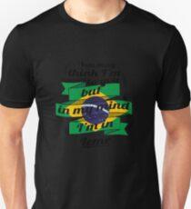 URLAUB brasilien brasil TRAVEL I'M IN Brazil Leme Unisex T-Shirt
