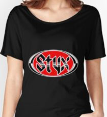 styx font logo Women's Relaxed Fit T-Shirt