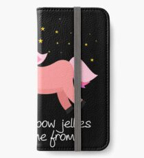 Unicorn Barf: Where Rainbow Jellies Really Come From iPhone Wallet/Case/Skin