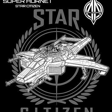SUPER HORNET Star Citizen by zRiSes