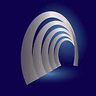 silver arcade tunnel by feiermar