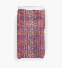 Neon Mikkey Knit Duvet Cover