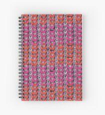 Neon Mikkey Knit Spiral Notebook