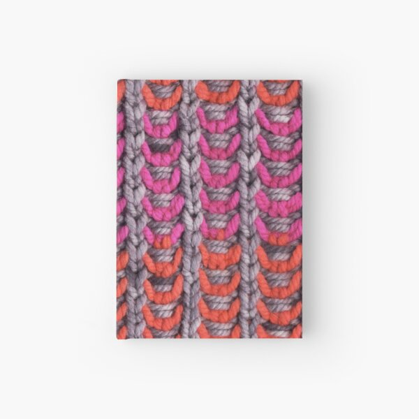 Neon Mikkey Knit Hardcover Journal
