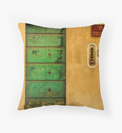 Number 172, Barcelona, Spain Throw Pillow