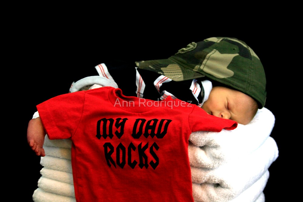 My Dad Rocks by Ann Rodriquez