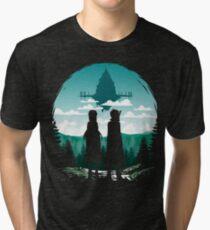 Camiseta de tejido mixto SAO Aincrad