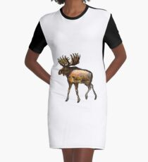 Deep Within Graphic T-Shirt Dress