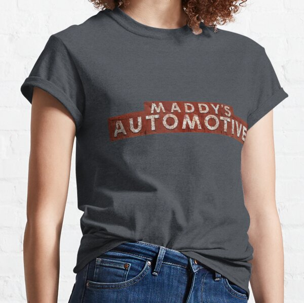 Maddy's Automotive Sign Classic T-Shirt