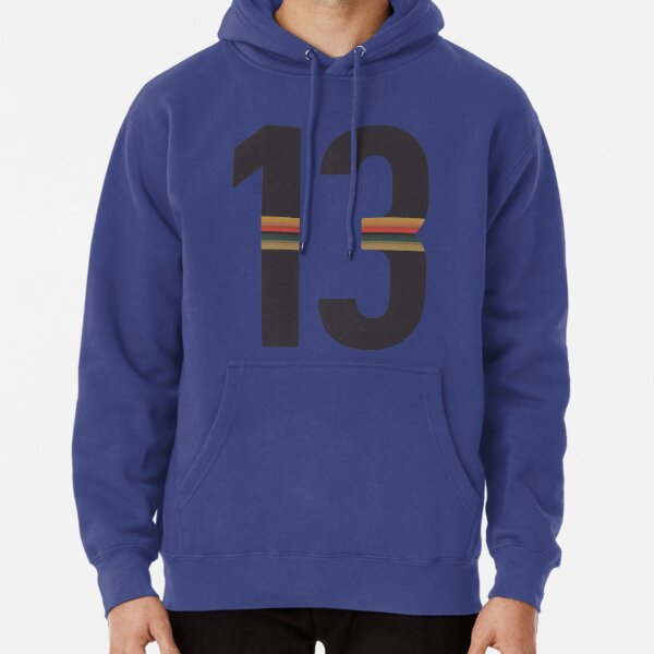 Striped 13 - Version 1 Pullover Hoodie