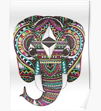 Color Elephant  Poster