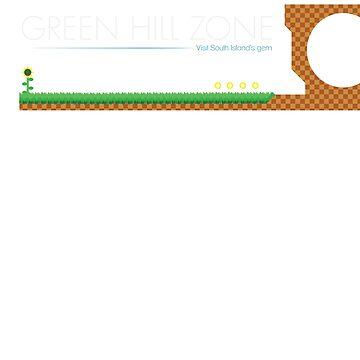 Green Hill Zone by stardustshadow