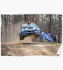 Flying Subaru Poster