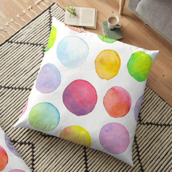 Blending Bubbles Floor Pillow