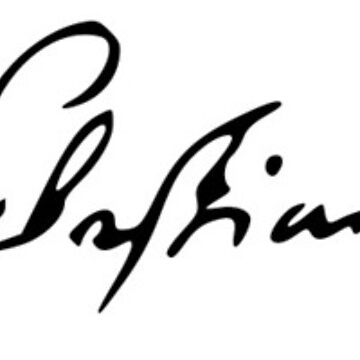 Johann Sebastian Bach's Signature by mike11209