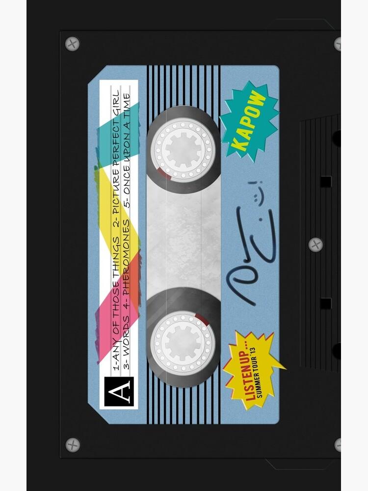 DC Listen Up Cassette by fallenjunkie