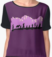 Fellowship in the morning Women's Chiffon Top