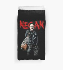 Negan and Lucille Duvet Cover