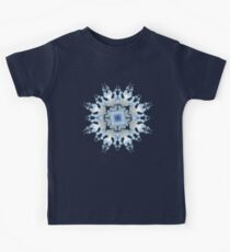 Curly Mandala on blue Kids Clothes
