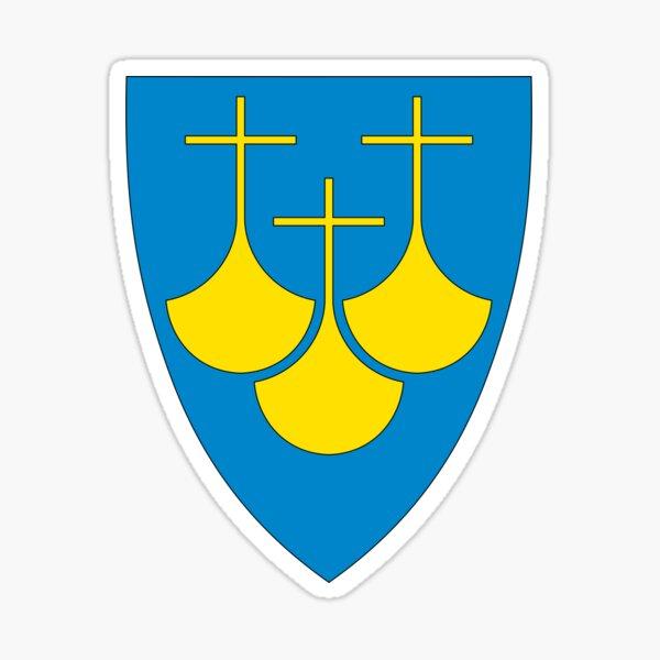 Møre og Romsdal Coat of Arms, Norway Sticker