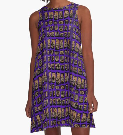 Ultra Violet COTY 2018 A-Line Dress