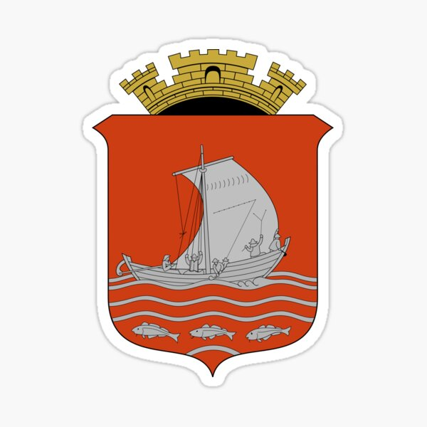 Ålesund Coat of Arms, Norway Sticker
