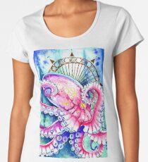 Watercolor Octopus Women's Premium T-Shirt