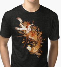 Autumn fox Tri-blend T-Shirt