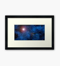 The Beauty of the Universe Framed Print
