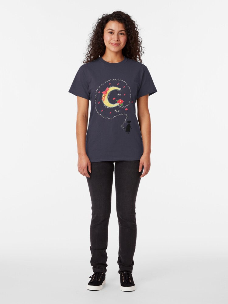 Alternate view of Advent Moon Classic T-Shirt