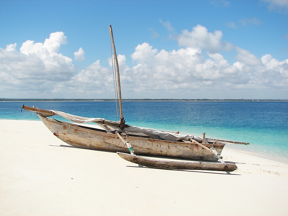 Traditional Dhow by Kirk Hart