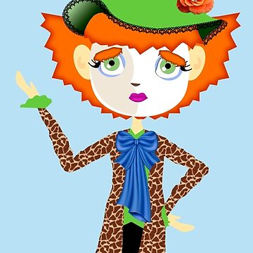 Fantastic Mad Hatter by LythiumArt
