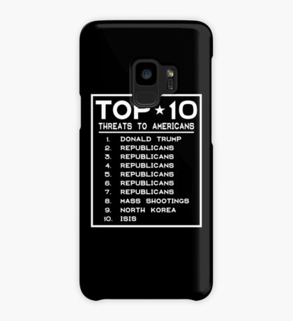 Top Ten Threats to Americans Case/Skin for Samsung Galaxy