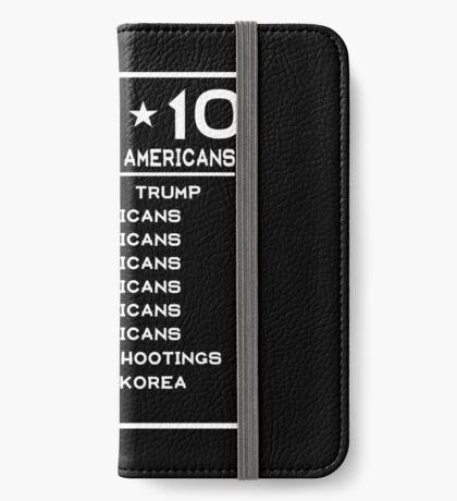 Top Ten Threats to Americans iPhone Wallet