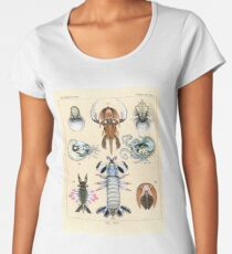 Fossil Plate Women's Premium T-Shirt