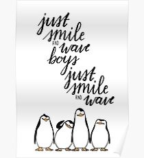 Nur Lächeln und Wave Boys Poster