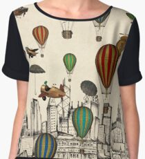 Vintage Old City Women's Chiffon Top
