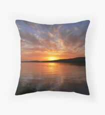 Ballyshannon Estury Sunset Throw Pillow