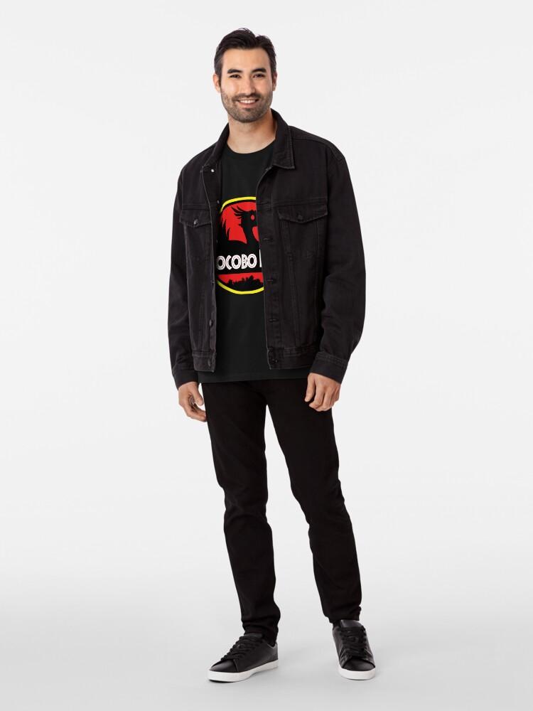 Alternative Ansicht von Chocobo Bauernhof Premium T-Shirt