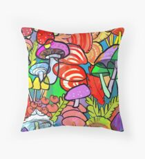 Overnight a Forest Appeared Throw Pillow